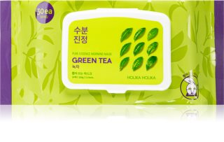 Holika Holika Pure Essence Green Tea Refreshing Morning Mask With Green Tea extract