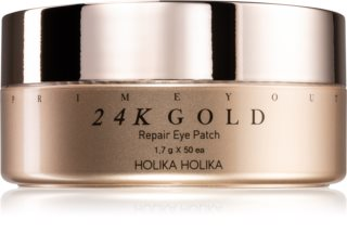 Holika Holika Prime Youth 24K Gold masque hydrogel contour des yeux à l'or 24 carats