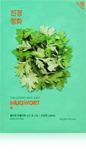 Holika Holika Pure Essence Mugwort Soothing Sheet Mask