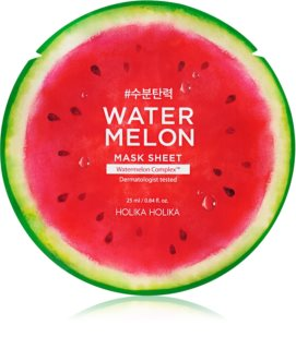 Holika Holika Watermelon Mask Moisturising and Soothing Sheet Mask