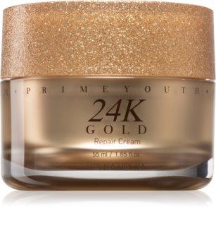 Holika Holika Prime Youth 24K Gold интензивен възстановяващ крем с 24 каратово злато