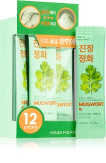Holika Holika Pure Essence Mugwort vorteilhafte Packung zur gründlichen Reinigung der Haut