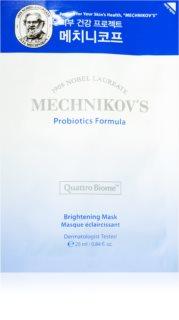 Holika Holika Mechnikov's Probiotics Formula λαμπρυντική υφασμάτινη μάσκα λάμψης