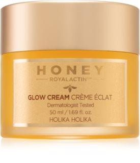 Holika Holika Honey Royalactin лек хидратиращ крем-гел за озаряване на лицето