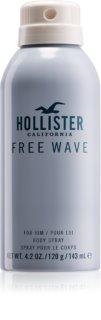 Hollister Free Wave spray pentru corp pentru bărbați