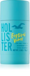 Hollister Festival Vibes deostick pentru bărbați