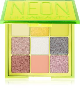 Huda Beauty Neon Obsessions Green paleta de sombras de ojos