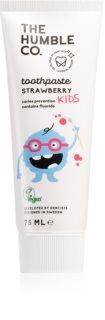 The Humble Co. Natural Toothpaste Kids Naturlig tandkräm för barn Med jordgubbssmak