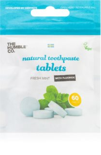 The Humble Co. Natural Toothpaste Tablets Pastillen