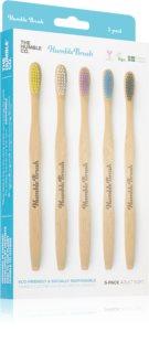 The Humble Co. Brush Adult Bambus-Zahnbürste weich
