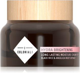 I Coloniali Hydra Brightening intenzíven hidratáló nappali krém SPF 15