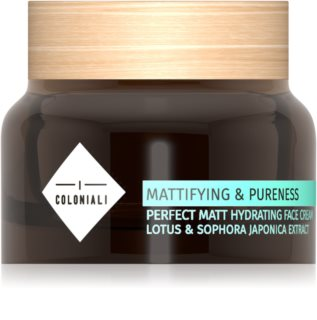 I Coloniali Mattifying & Pureness Mattifying Moisturiser for Normal and Combination Skin