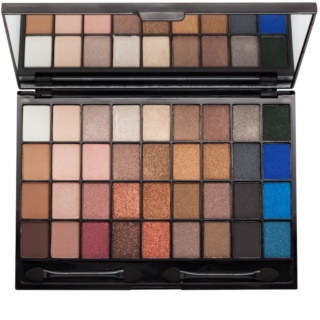 I Heart Revolution Slogan Palette Eyeshadow Palette with Mirror and Applicator