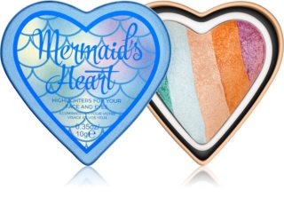 I Heart Revolution Mermaids Heart рум'яна – тіні для повік  – хайлатер