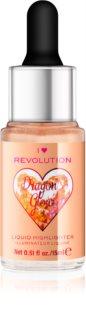 I Heart Revolution Dragons Glow tekutý rozjasňovač