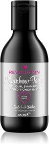 I Heart Revolution Rainbow Shots šampon za ispiranje boje za kosu za kosu