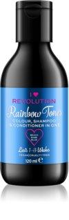 I Heart Revolution Rainbow Shots șampon spălare par