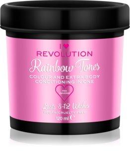 I Heart Revolution Rainbow Tones verdwijnende kleur voor het Haar