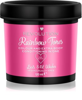 I Heart Revolution Rainbow Tones tinte lavable para cabello