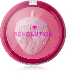I Heart Revolution Fruity Blusher Strawberry blush compatto