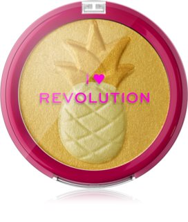 I Heart Revolution Fruity Highlighter Pineapple aufhellender Kompaktpuder