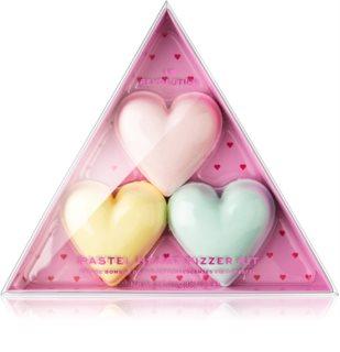 I Heart Revolution Fizzer Kit Pastel Heart zestaw kosmetyków (do kąpieli) dla kobiet