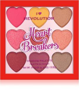 I Heart Revolution Heartbreakers paletka očních stínů