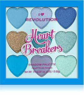 I Heart Revolution Heartbreakers палитра сенки за очи
