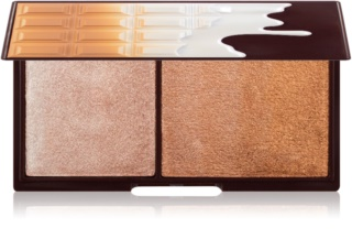 I Heart Revolution Mini Chocolate Bronze And Shimmer palette di illuminante e bronzer