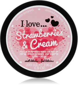 I love... Strawberries & Cream Körperbutter
