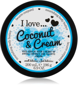 I love... Coconut & Cream manteiga corporal