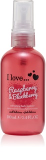 I love... Raspberry & Blackberry spray corporal refrescante