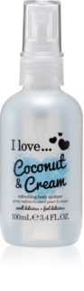 I love... Coconut & Cream spray corporal refrescante