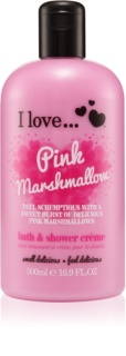 I love... Pink Marshmallow крем за душ и вана