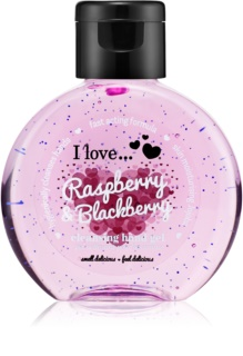 I love... Raspberry & Blackberry gel limpiador para manos