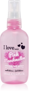 I love... Pink Marshmallow spray corporal refrescante