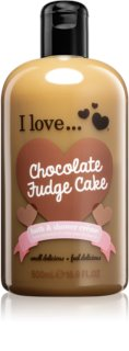 I love... Chocolate Fudge Cake douche- en badcrème