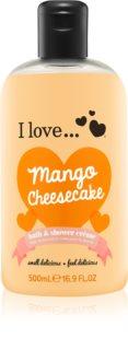 I love... Mango Cheesecake krema za tuširanje i kupku