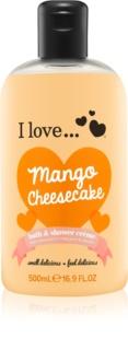 I love... Mango Cheesecake крем для ванни та душу