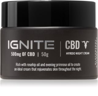Ignite CBD Lavender 500mg Hydrating Night Cream