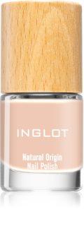 Inglot Natural Origin dlouhotrvající lak na nehty