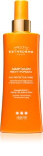 Institut Esthederm Adaptasun Protective Milky Body Spray Protective Sunscreen Lotion High Sun Protection