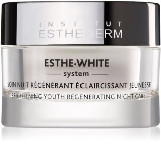Institut Esthederm Esthe White Brightening Youth Regenerating Night Care nočný bieliaci krém s regeneračným účinkom