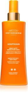 Institut Esthederm Adaptasun Protective Milky Body Spray latte abbronzante protettivo in spray a media protezione UV