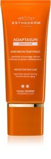 Institut Esthederm Adaptasun Sensitive ochranný krém na tvár so strednou UV ochranou