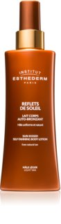 Institut Esthederm Sun Sheen Sun Kissed Self-Tanning Body Gel crema autobronzanta pentru corp