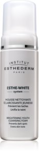 Institut Esthederm Esthe White Brightening Youth Cleansing Foam  mousse nettoyante effet blancheur