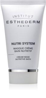 Institut Esthederm Nutri System Cream Mask Nutritive Bath výživná krémová maska s omladzujúcim účinkom