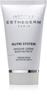 Institut Esthederm Nutri System Cream Mask Nutritive Bath поживна крем-маска з омолоджуючим ефектом