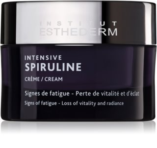 Institut Esthederm Intensive Spiruline Cream hochkonzentrierte revitalisierende Creme zur Pflege müder Haut
